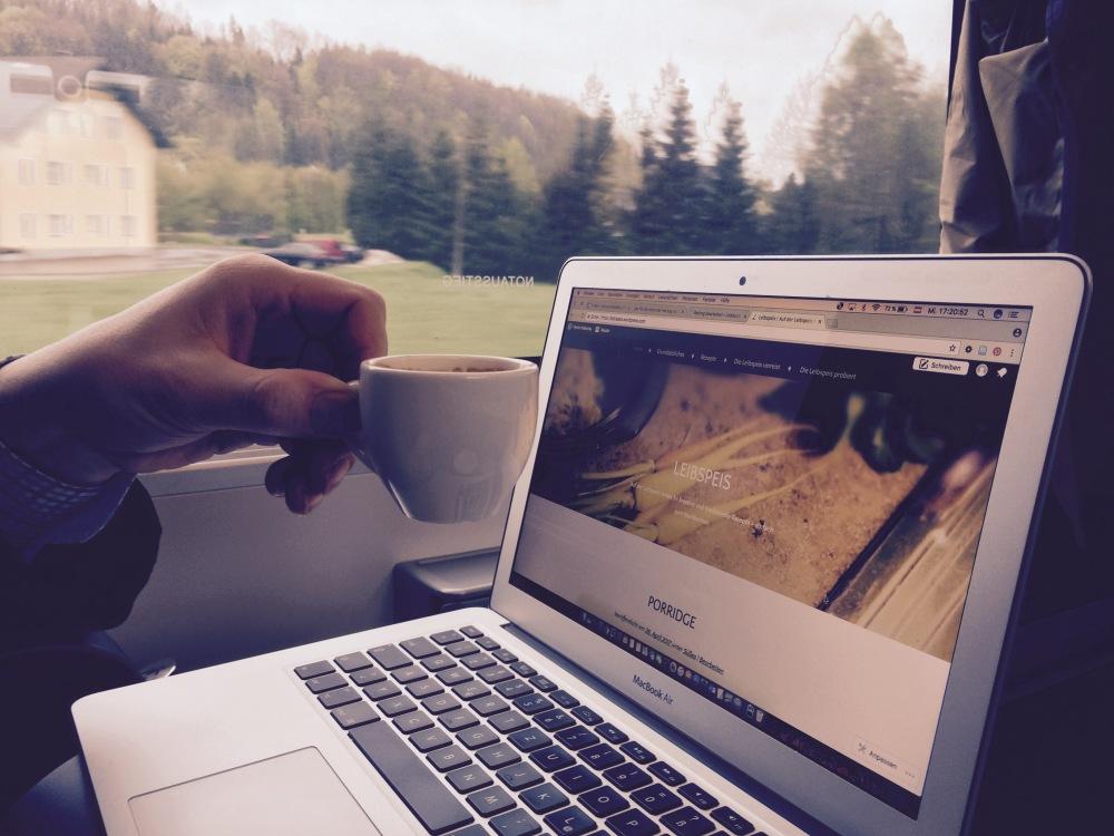 Foto aus dem Zug