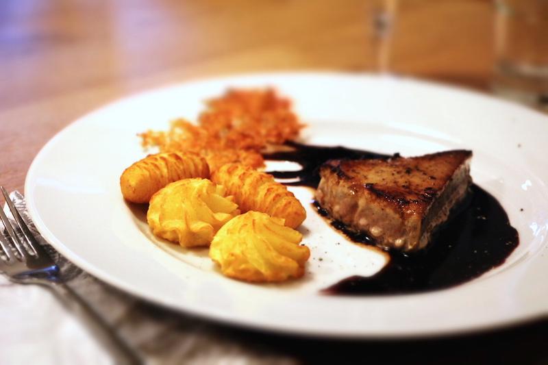 Thunfisch und Portwein