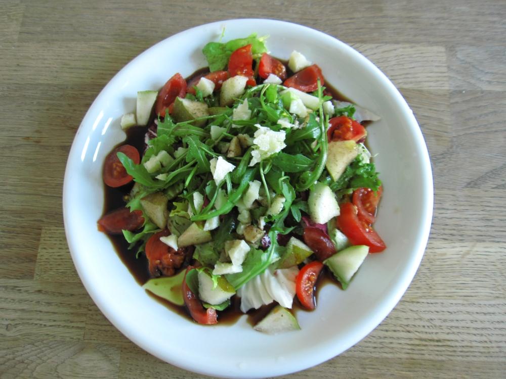 Salat mit Birnen
