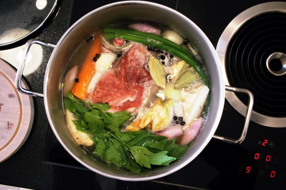 Suppe vom Schwein