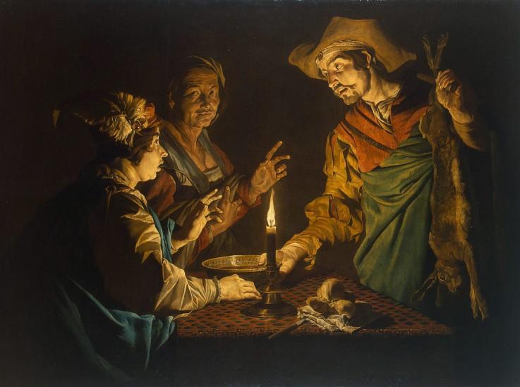 Matthias Stomer: Das Linsengericht