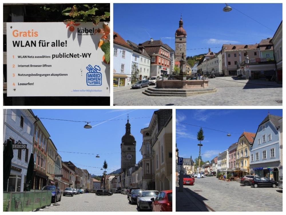 Stadtplätze in Waidhofen
