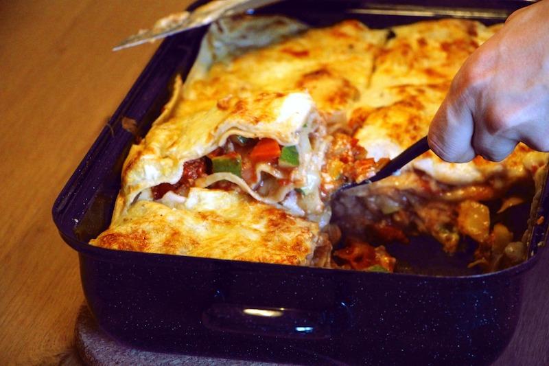 Lasagnestück